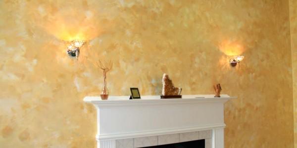 Decorative Finishes Fireplace